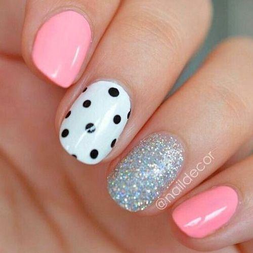 Best 25 dot nail art ideas on pinterest dot nail designs polka dot nails 34 best polka dot nail designs prinsesfo Gallery