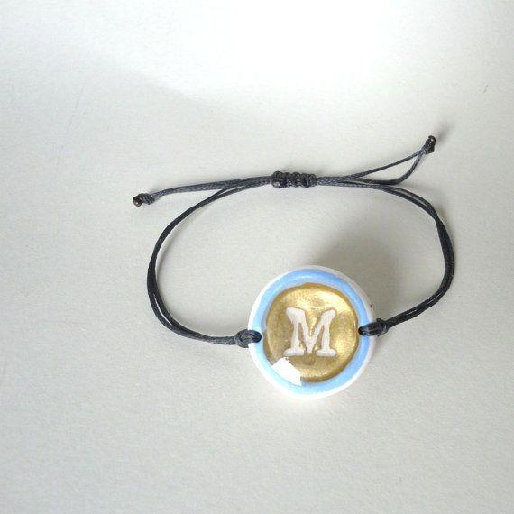 Hey, I found this really awesome Etsy listing at https://www.etsy.com/listing/263151167/monogram-bracelet-resin-bracelet