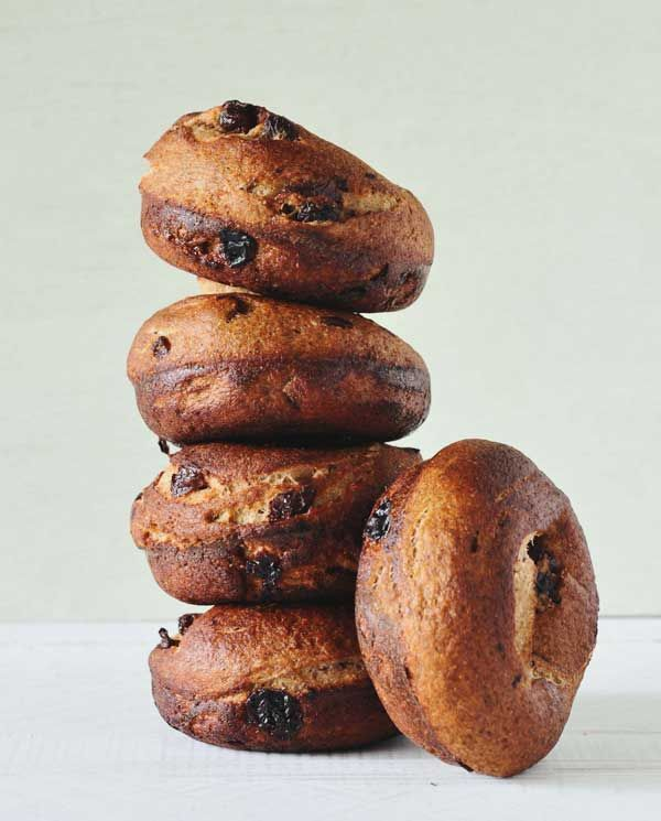 Rye Raisin Muffins Recipe — Dishmaps