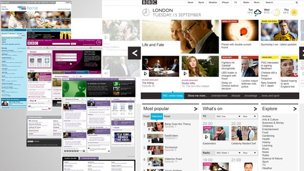 BBC timeline - below the fold
