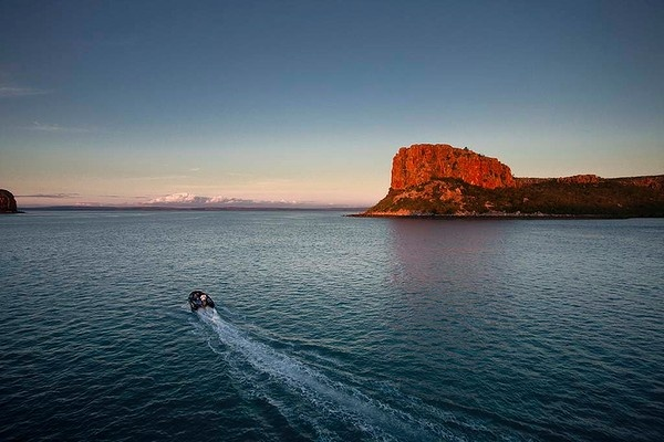 Cruising the spectacular Kimberley on board the Orion. #Australia