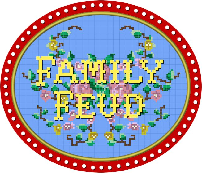 family feud logo 1988 game shows pinterest