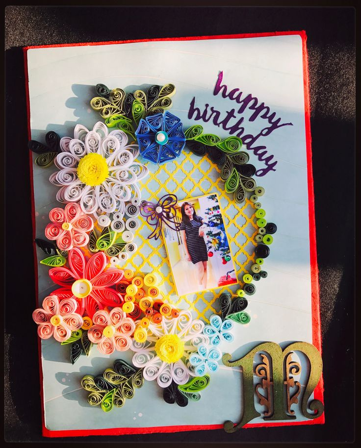 Quilled Card, Quilling