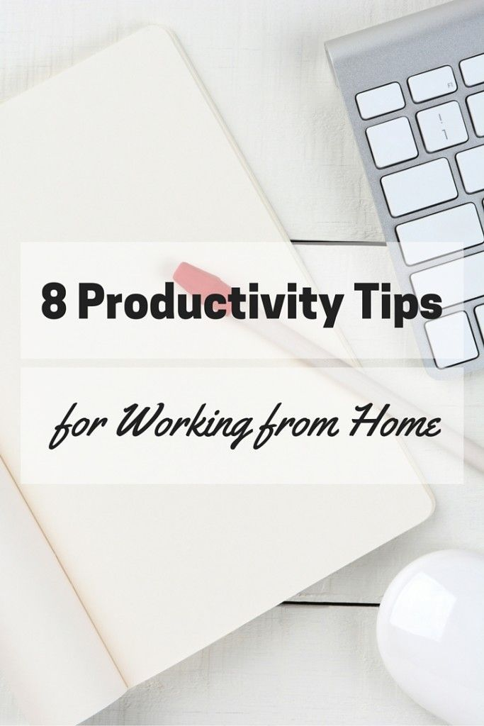 8 Productivity Tips for Working from Home Effectively :http://blog.cuteheads.com/8-productivity-tips-working-home-effectively/