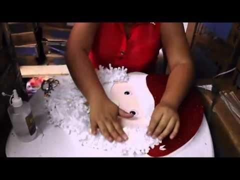 Casa Huacho Maritn: Manualidades Con Lucero Santa Claus