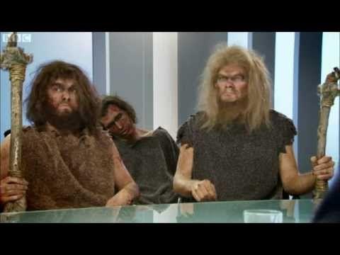 Horrible Histories Historical Apprentice (Stone Age) - YouTube Hunting strategies of homo sapien vs. Neanderthal