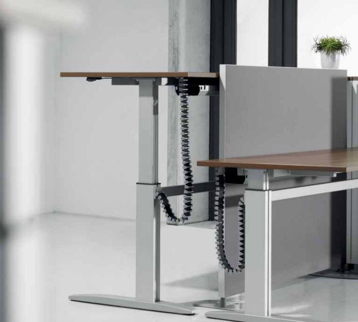 bureau réglable en hauteur électrique