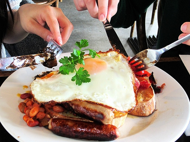 Brekky Fry-Up Perth Western Australia #brekky #breakfast