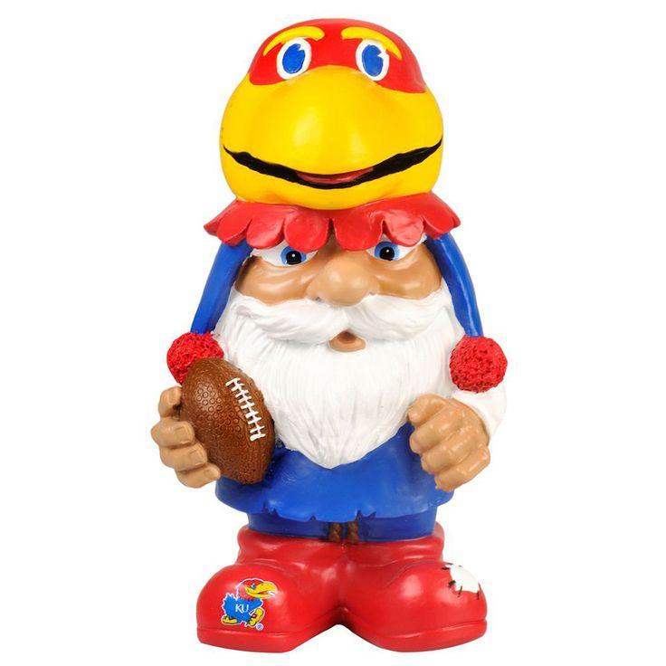 Kansas Jayhawks NCAA Mad Hatter Gnome