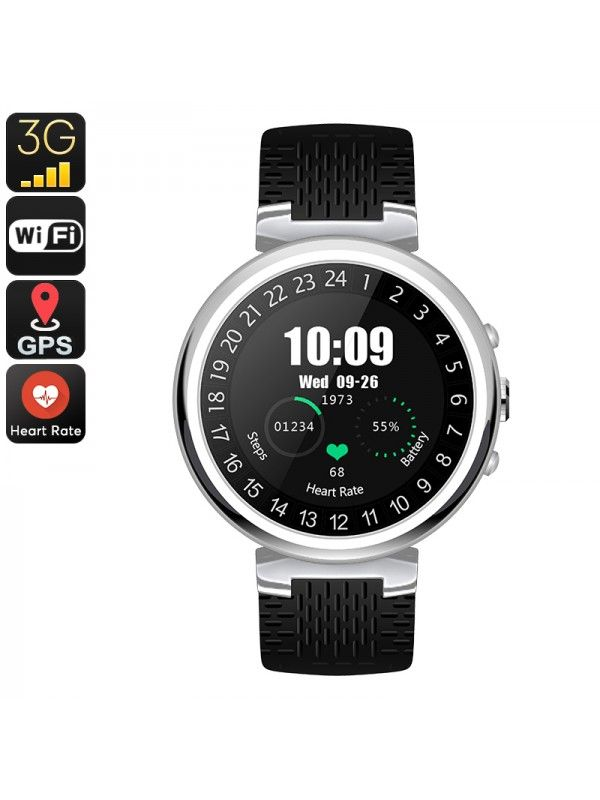 IQI I6 SMART WATCH PHONE (SILVER)