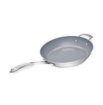 """Chantal® Induction 21 Cookware 11"""" Fry Pan with Ceramic Coating"""