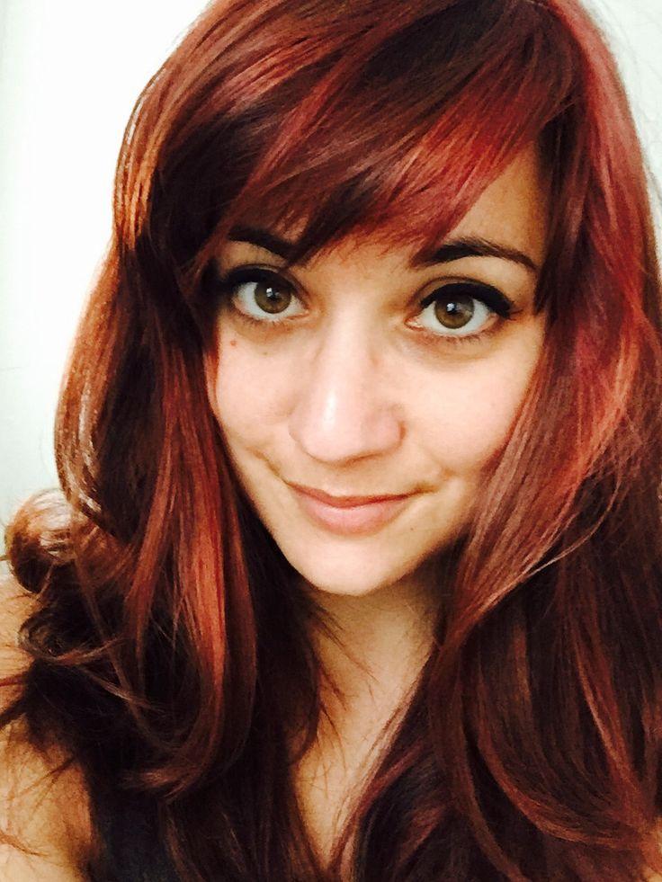 Rødt hår.  #forandring #vild_med_det