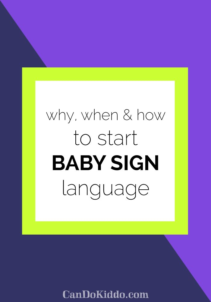 Everything you ever wanted to know about baby sign language - from a pediatric OT and speech therapist!