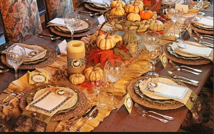 Thanksgiving Tablescape By Sandra Lee Party And Display