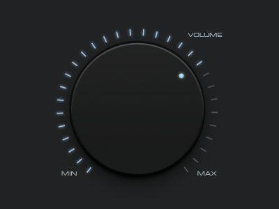 Volume-knob