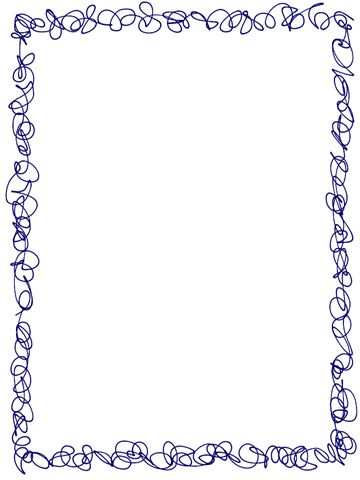 Scribble Frame Border Freebie (plus other freebies): Marc, There Is A, Framework
