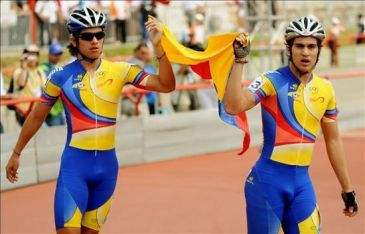 Andrés Felipe Muñoz (derecha) y Pedro Causil (izquierda).