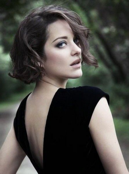 marion cotillard - formal styling mid length hair