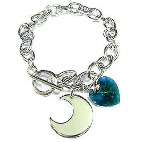 `MoonNight` May Birthstone Bracelet - Emerald
