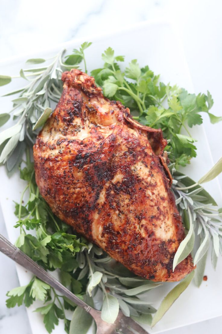 Crispy Herb Turkey (Air Fryer Recipe Air fryer turkey