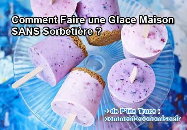 Oui c'est possible de faire une glace maison sans sorbetière. Et en plus, c'est hyper facile.  Découvrez l'astuce ici : http://www.comment-economiser.fr/faire-une-glace-maison-sans-sorbetiere.html?utm_content=buffer4690f&utm_medium=social&utm_source=pinterest.com&utm_campaign=buffer