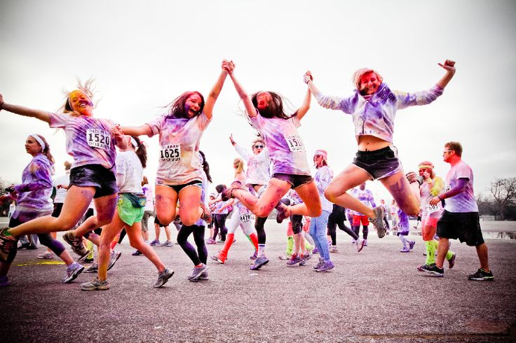 run the color run!