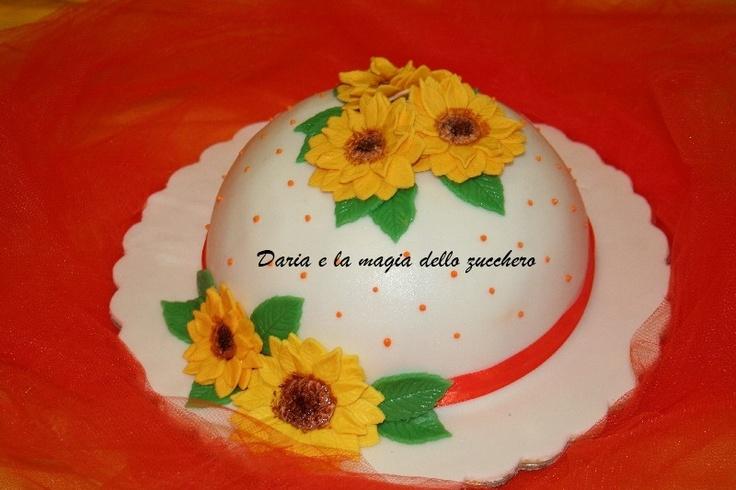 #Torta girasoli #Girasoli #Sunflower cake#