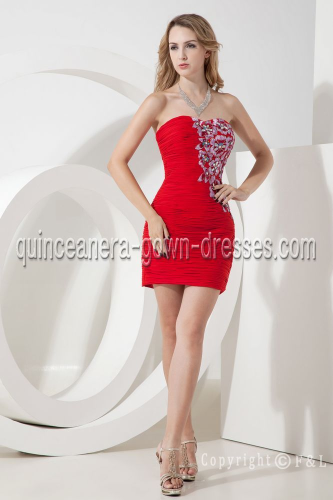 short inexpensive sweet sixteen dresses