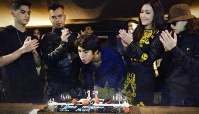 Maia Estianty dan Ahmad Dhani Ulang Tahun El (Instagram.com/maiaestiantyreal)   Berita Artis , Jak...