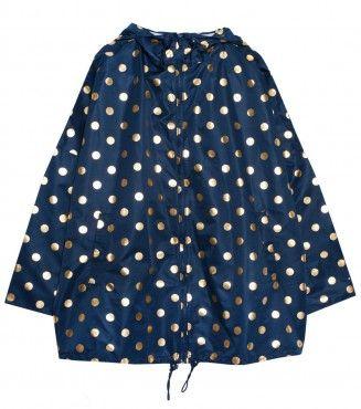 Gorman, Foil spot raincoat.