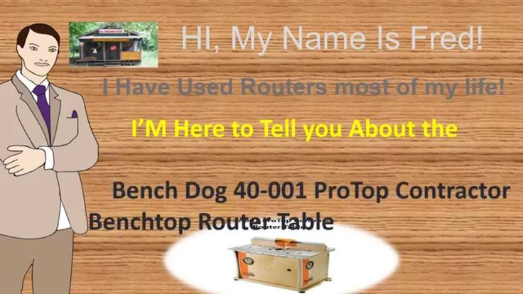 Bench Dog 40-001 Benchtop Router Table | Best benchtop router table reviews