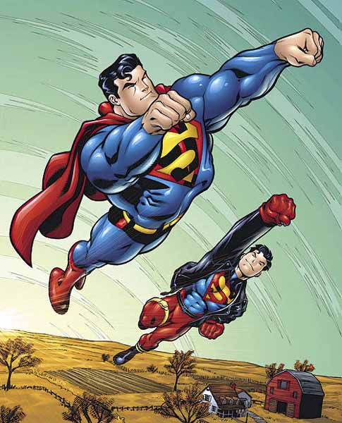 Superman and Superboy•Ed McGuinness