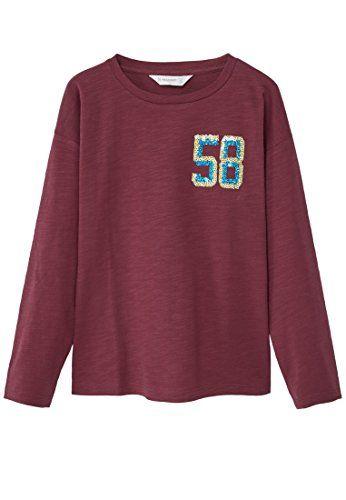 MANGO KIDS - Baumwoll-t-shirt mit T-Shirts pailletten - http://www.darrenblogs.com/2017/02/mango-kids-baumwoll-t-shirt-mit-t-shirts-pailletten/