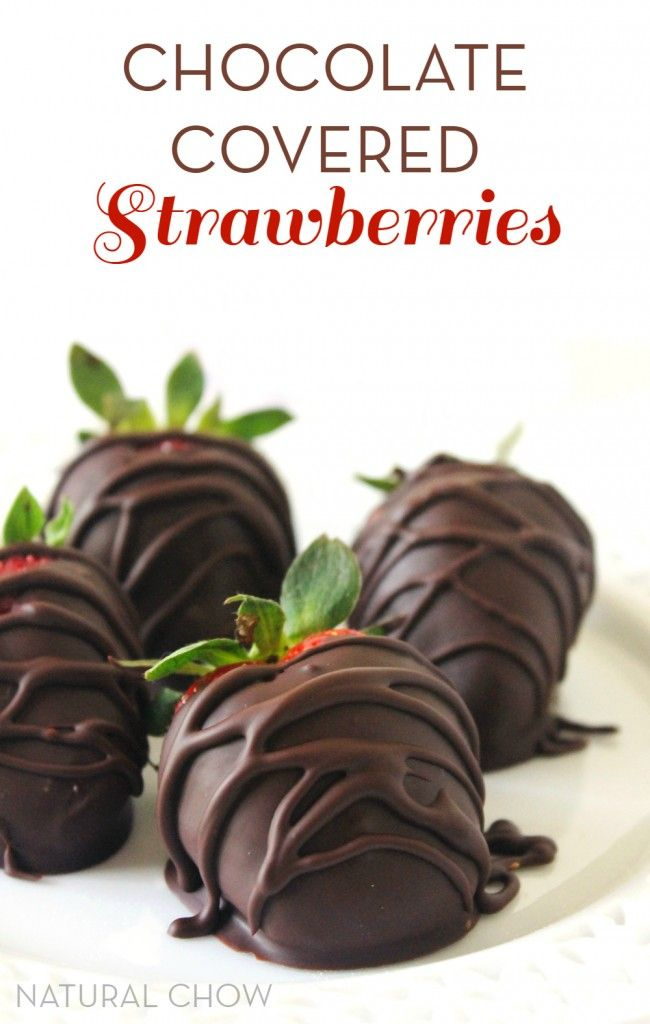 These easy chocolate covered strawberries take less than 20 minutes to make and taste absolutely heavenly. Just 4 ingredients are all you need to make this tasty chocolaty treat!