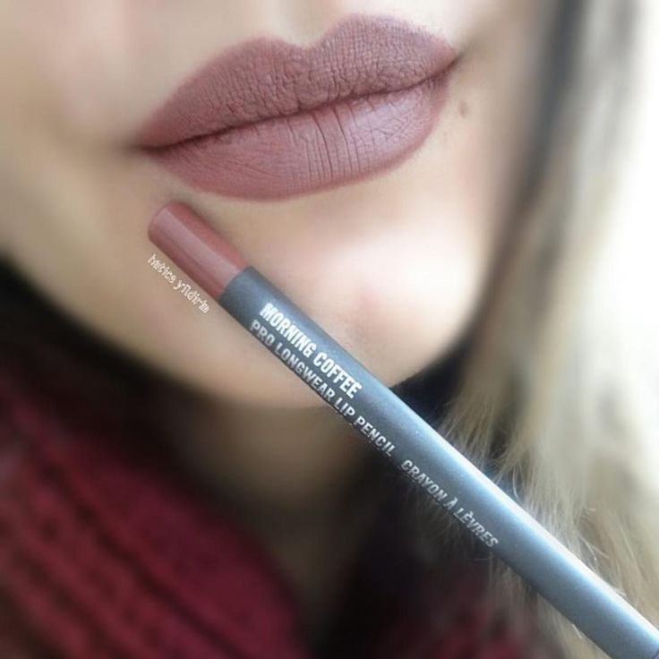 Lip liner in Morning coffee