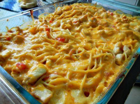 Rotel Chicken Spaghetti Casserole – Lovers Recipes