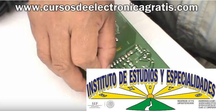 CURSOS DE ELECTRÓNICA GRATIS: REPARACIÓN DE DVD PARTE 2