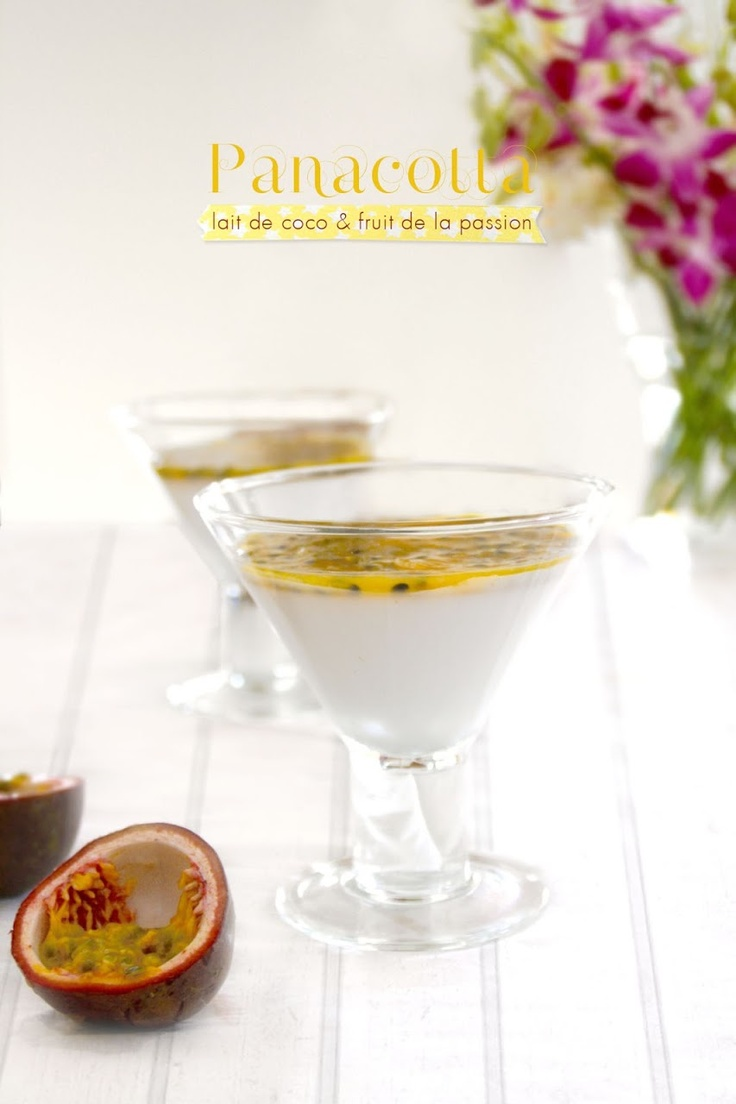 how to make passionfruit flummery