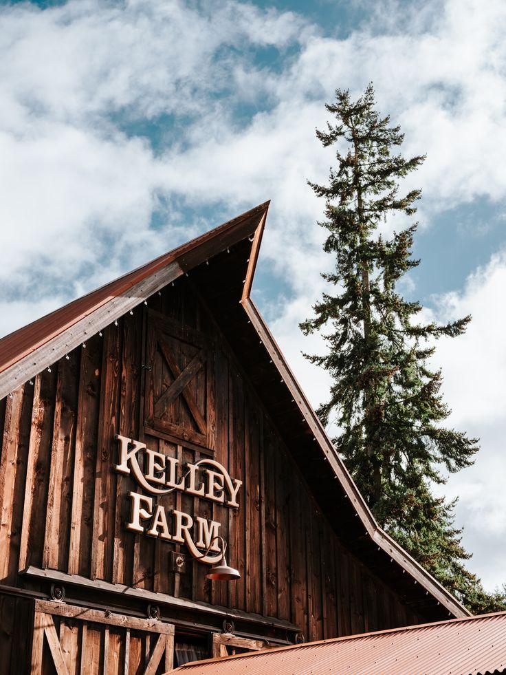 The Kelley Farm, Bonney Lake, Washington. Rustic barn ...