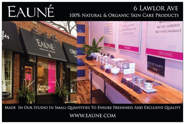 Eaune Skincare Studio in Toronto Canada