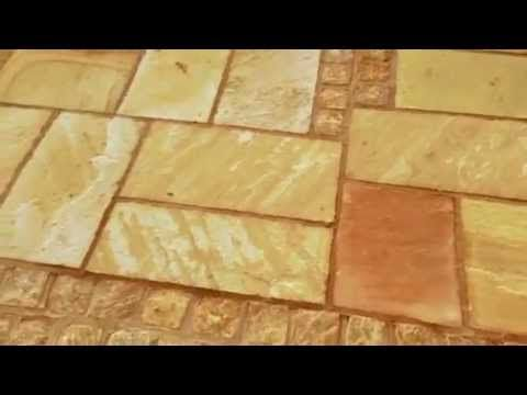 Peter Donegan Landscaping Dublin – Dublin Landscaping: Natural Sandstone and Granite Cobble Patio