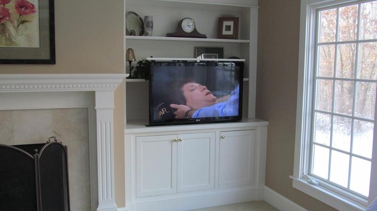 A perfect spot for a hidden TV lift!