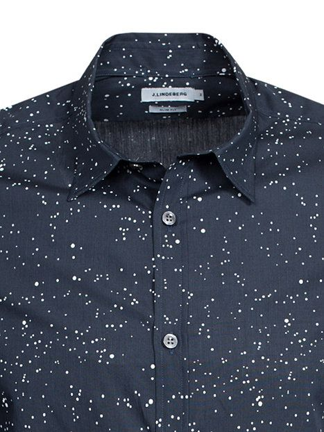 Dani Cl Plkt Astronomical - J Lindeberg - Navy - Shirts (Men) - Clothing - Men - NlyMan.com