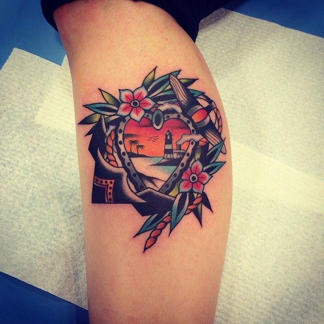 goodluckmelbourne:  Done at the Adelaide tattoo expo by kirk jones @kirk_jones #goodlucktattoo