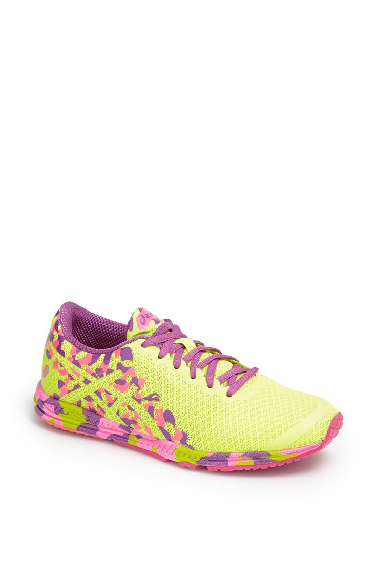 Neon running shoes!