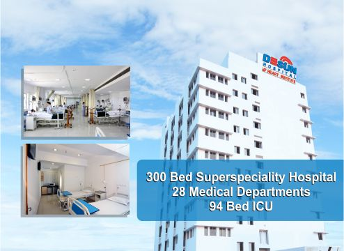 Desun Hospital Website Banner