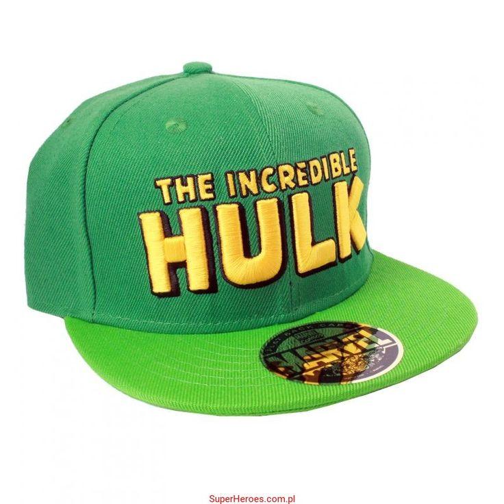 Czapka Hulk z daszkiem