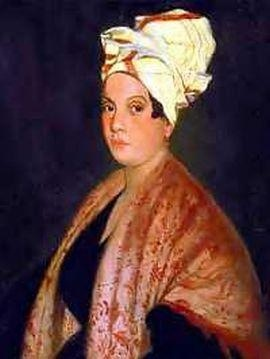 """Lorraine Laveaux best known as the """"Creole Voodoo Priestess of New Orleans"""", she was in fact a 19th century hairdresser & community leader in New Orleans. She tended to the sick & contributed to many charitable organizations in New Orleans."""