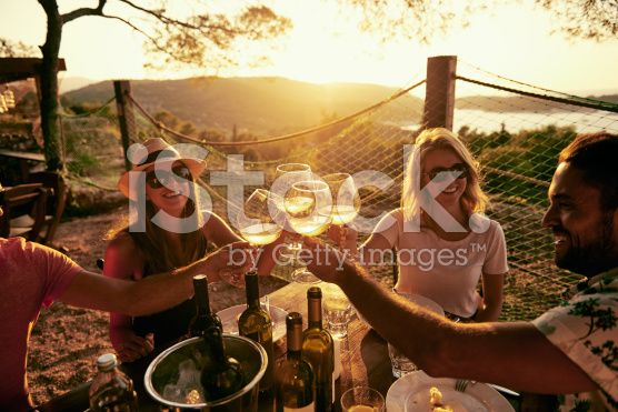 Carefree times with great people royalty-free stock photo