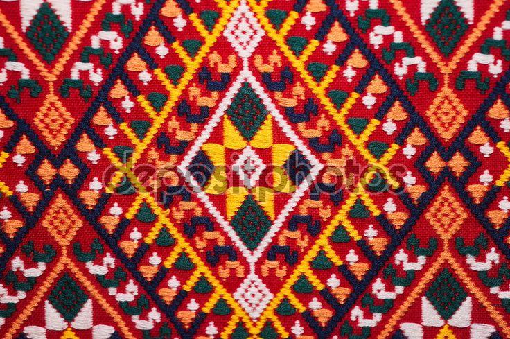 Superficie tappeto di artigianato tailandese variopinto stile peruviano si chiuda. Più di questo motivo & altro tessili peruviano striscia sfondo bellissimo arazzo persiano nomade dettaglio arabo alla moda tessile